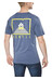 Gentic New School Tee Men Dusty Blue